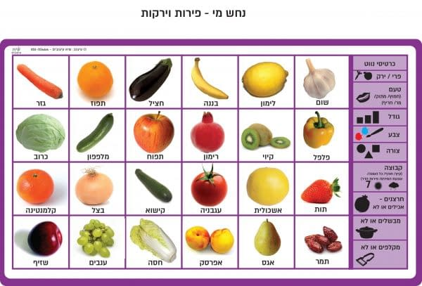 נחש מי - פירות וירקות